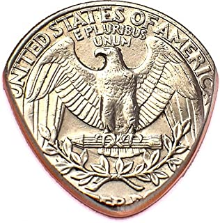 Quarter Guitar Pick Handmade In America From Real USA Coin
