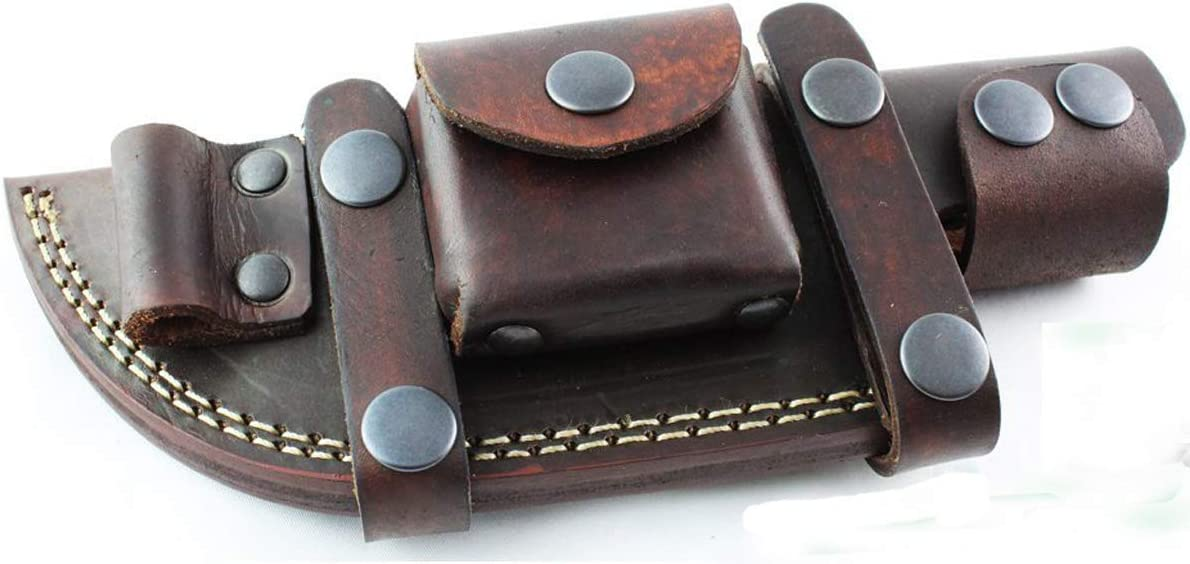 Moorhaus Handcrafted Leather Popular brand in the world Knife Bushcraft Popular product for Sheath Tracker