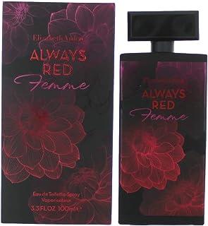 Elizabeth Arden Always Red for Women - Eau de Toilette, 100 ml