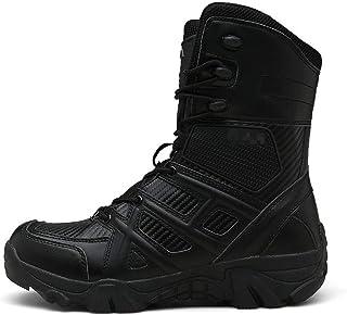 Jancerkmou Automne Militaire Bottes Hommes Force Spéciale Tactique Désert Combat de Neige Chaussures de Plein Air Mens Tac...