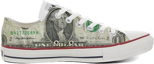 Converse All Star schuhe Personalizadas Unisex (Producto Artesano) Slim Dollaro Style