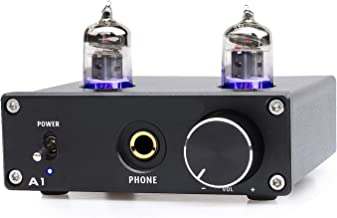 CarBest Bluetooth 5.0 Vacuum Tube Preamplifier Hi-Fi Valve Headphone Amplifier Wireless Receiver Audio Decoder Preamp USB