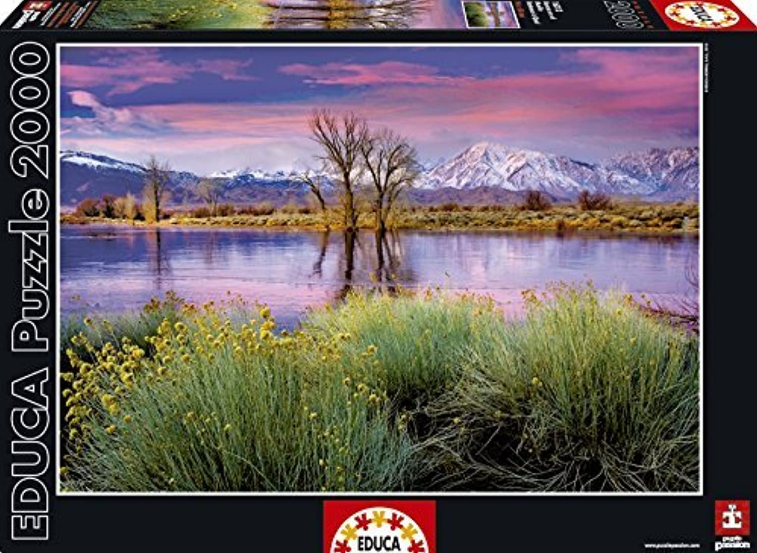 Educa 16318Jigsaw Puzzle 2000pieces-Summer End by Educa