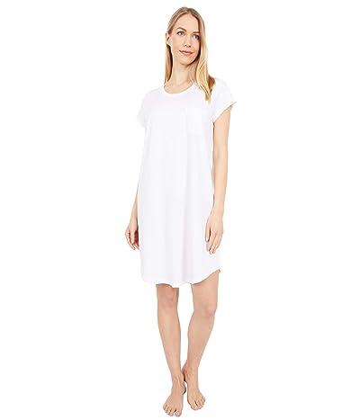 Skin Carissa Organic Pima Cotton Sleepshirt (White) Women