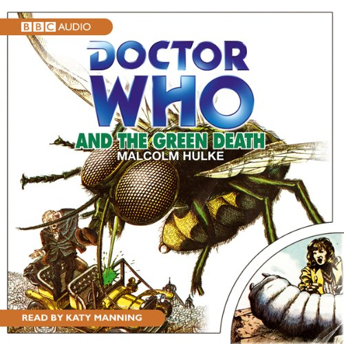 Doctor Who and the Green Death audiobook cover art