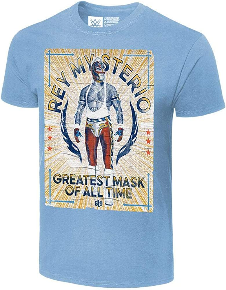 WWE Rey Mysterio G.M.O.A.T. Poster 25% OFF Authentic Ranking TOP7 T-Shirt