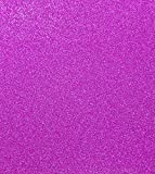 TooMeeCrafts 11 Inches by 8 Inches Glitter Cardstock Bright Purple Color,Pack of 10
