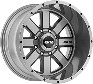 SOTA Offroad 569AB A.W.O.L. Anthra-Kote Black Wheel with Painted Finish (20 x 9. inches /8 x 180 mm, 0 mm Offset)