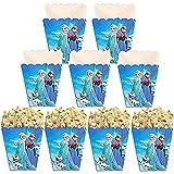 24 piezas/caja de partidos bolsa de palomitas de maíz caja de palomitas de maíz caja de papel de palomitas de maíz para cumpleaños cine nocturno carnaval cine cine fiesta fiesta fiesta fiesta fiesta
