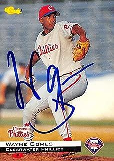 Autograph Warehouse 244547 Wayne Gomes Autographed Baseball Card - Philadelphia Phillies44; FT 1994 Classic Minor League Rookie - No. 175