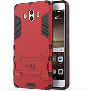Huawei Mate 10 Case Cover, CoverON, Dual Layer Protective, Stand, Red