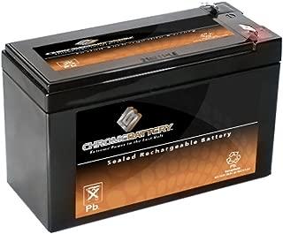 Chrome Battery 12V 7AH Sealed Lead Acid (SLA) Battery for 570 Portable Fish Finder
