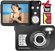Digital Camera Compact Camera 30 MP Digital Cameras Mini...