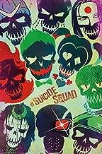Buyartforless Suicide Squad Sugar Skulls 36x24 Movie Art Print Poster