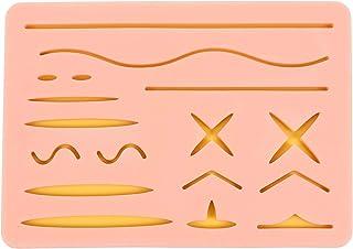 ULTECHNOVO Silikn-sömdyna söm öva hud Vrskurna sår träning hudkuddar Mdell för alla som lär dig att sy 16. 8 x 11. 8 cm