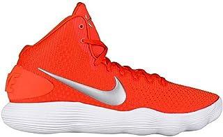 a7e8663bb140a Nike Men's Hyperdunk 2017 TB Basketball Shoes Orange/Metallic Silver/White  Size 7