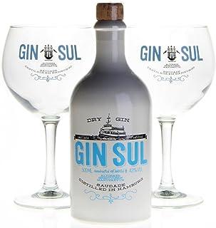GIN SUL 1x500ml mit 2 Gin Sul Ballongläser