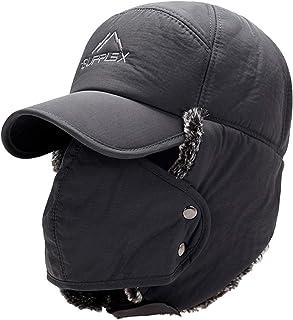 ロシア 帽子 飛行帽 耳あて付き帽子 防寒帽子 スノボ 帽子 耳付きキャップ 帽子 ファッション男女兼用
