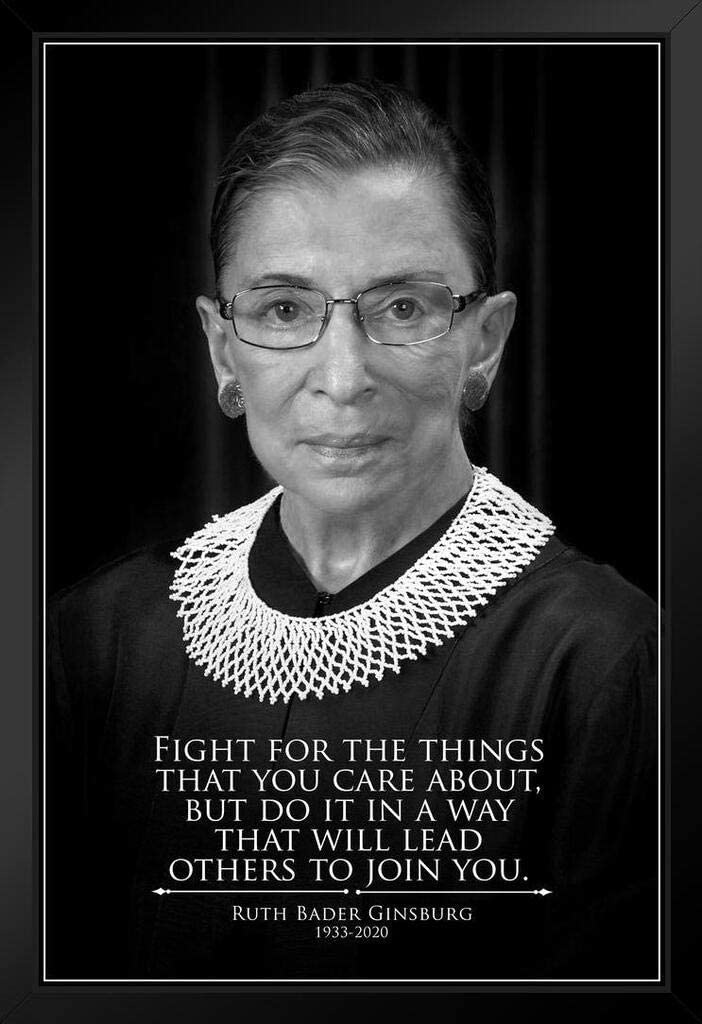 Ruth Popular popular Bader Ginsburg Quote Fight for Max 49% OFF The Things Believe RI You in