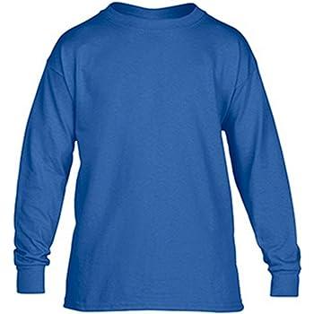 Gildan Big Boys Seamless Crewneck Tearaway Jersey Knit T-Shirt