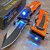 Best Tac Force Knives - Tac-force Orange EMT LED Tactical Rescue Pocket Knife Review