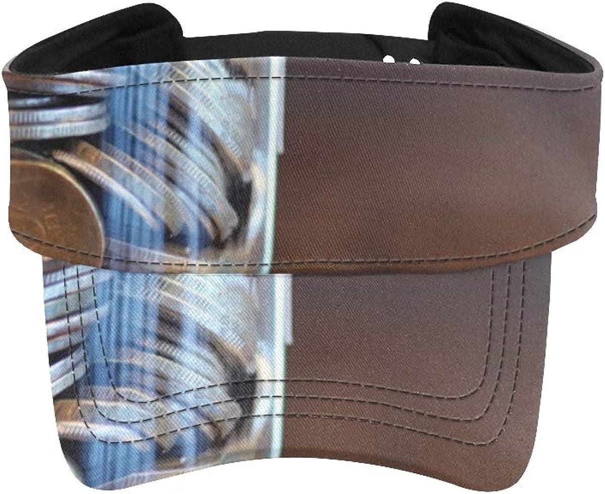 Men Hats Running Glass Money Storage sold Max 48% OFF out Wo Sun Men's Tank Visor Hat
