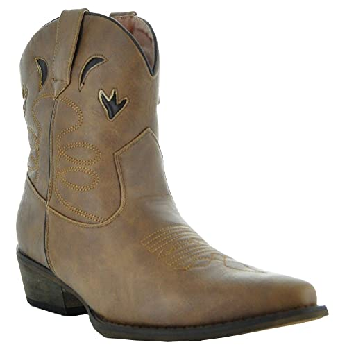 eea193d6972 Short Cowgirl Boots: Amazon.com