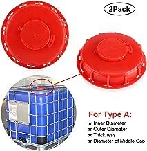 beioust 275-330 gallon IBC Portable Water Tank Drain Adapter 2Cam Lock on 1 Garden Hose