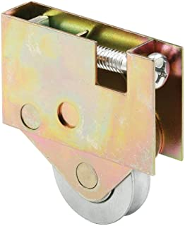 Slide-Co 134296 Sliding Door Roller Assembly, 1-1/2 Inch Steel Wheel, Compatible With Some Pella Doors, Pack of 1