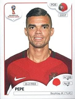 2018 Panini World Cup Stickers Russia #116 Pepe Portugal Soccer Sticker