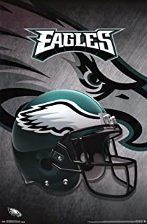"Trends International Philadelphia Eagles Helmet Wall Poster 22.375"" x 34"""