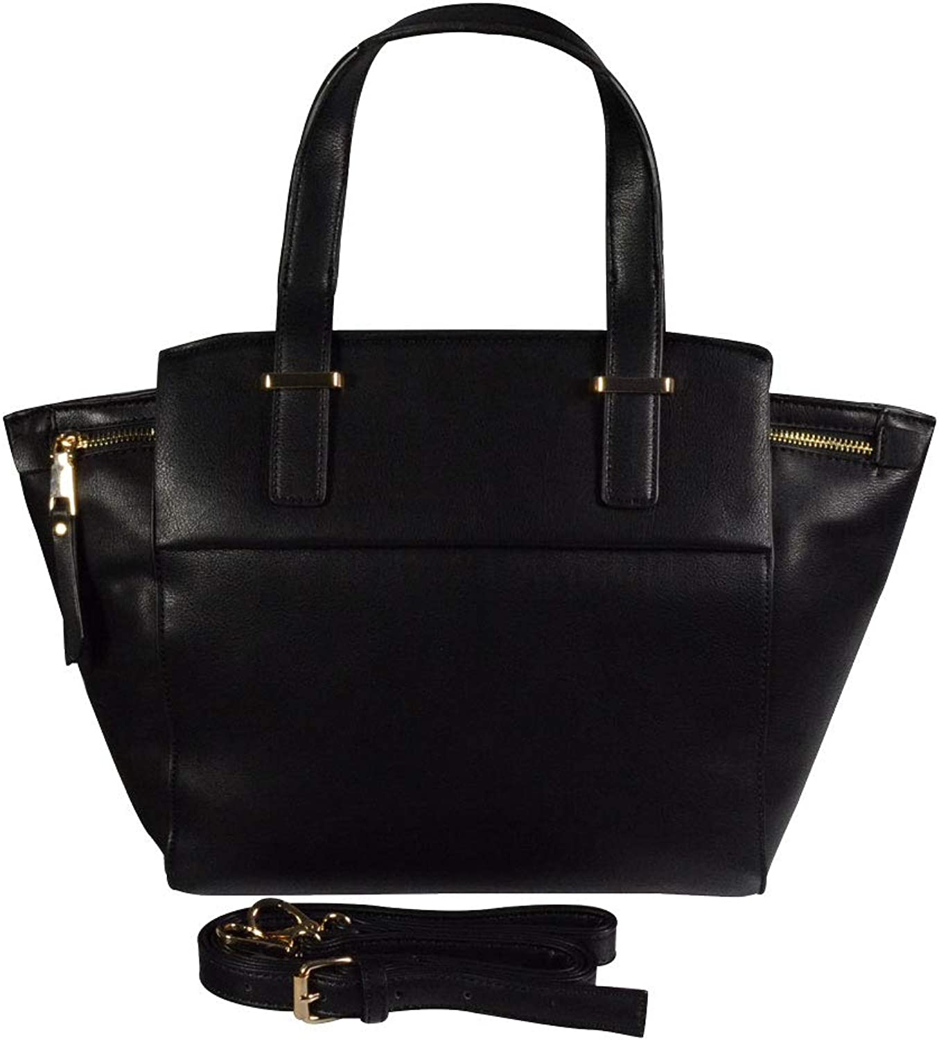 Katie Q New York Vegan Leather Structured Satchel