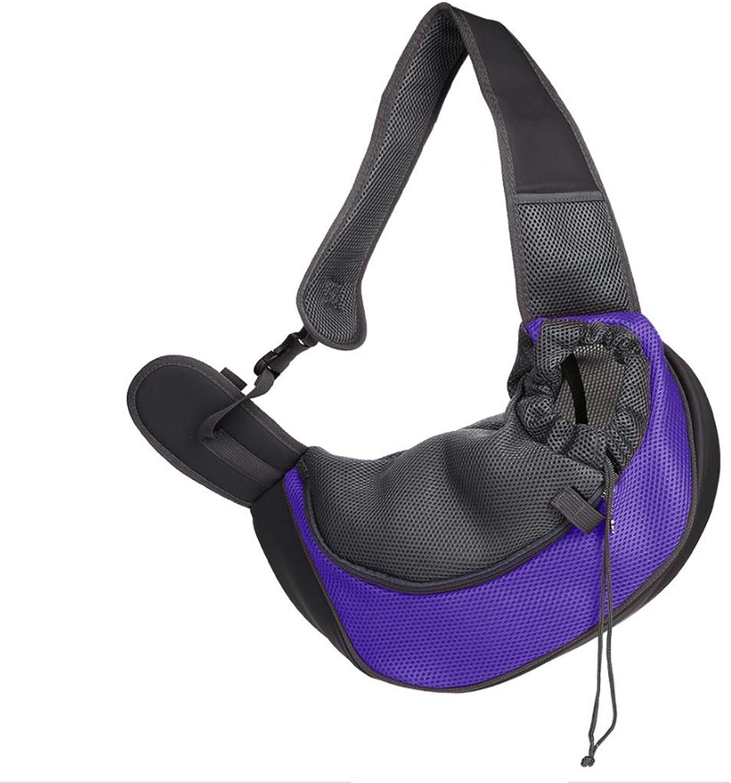 b0789688ebcd BLRYP Pet Backpack Dog Cat Pet Sling Carrier, Travel Puppy Shoulder ...