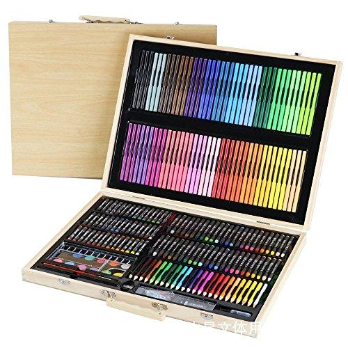 Tokyia Inicio 245 Valor de Color de Madera Caja de Madera Pintura Suministros del Dibujo del Arte de los niños determinados por el Dibujo
