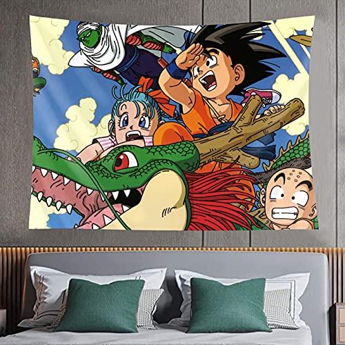 Dragon Ball Tapiz decoración de pared exclusivo tapiz 3d impresión arte para sala de estar dormitorio decoración pintura tamaño 152*102cm 152*127cm 204*152cm 228*152cm