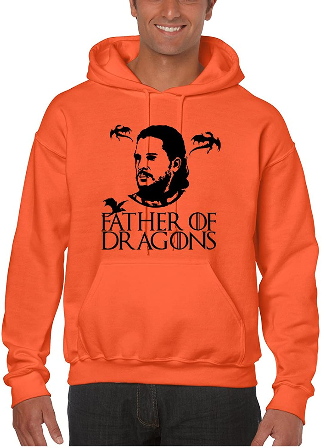 Allntrends Men's Hoodie Father Of Dragons Cool Gift Hot Shirt