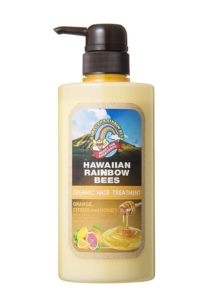 渇き血色の良い帽子ハワイアンレインボービーズ オーガニックグロッシー ヘアトリートメント OC 500ml 72123022