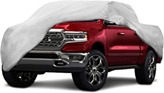Motor Trend T-800 Weatherproof for 2013-2019 Ram 1500 Crew/Quad Cab Custom Fit Truck Cover (Outdoor Use UV Protection Waterproof)