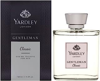 Yardley Gentleman Classic luxury fragrance Eau de Parfum, Citrus, Black pepper and spicy blend of cardamom, 100ml