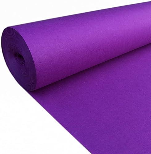 LKK Tapis de Yoga jetable pour Tapis de Yoga (Couleur   violet, Taille   1.2  20M)