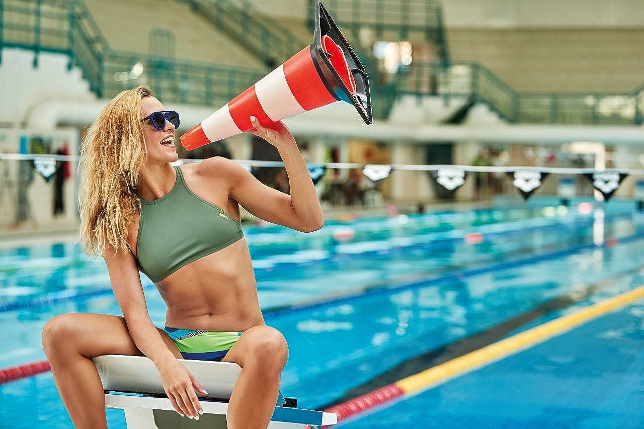 Arena Womens Training Crop Think for Athletes Bikini Top