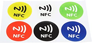 NFC Smart Tags Stickers - TOOGOO(R) 6Pcs Waterproof NFC Smart Tag Stickers Rfid Tag Adhesive Label For Samsung S3 S4