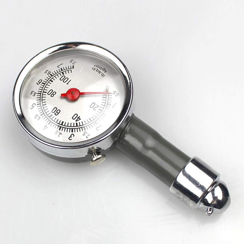 対立俳優礼儀エアゲージ タイヤ圧力計 タイヤの空気圧測定に 電池不要 軽量 高精度 調整 点検 車用 自動車用 カー用