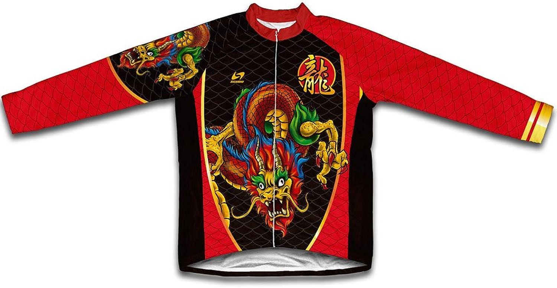 Tianlong Dragon Winter Thermal Cycling Jersey for Women
