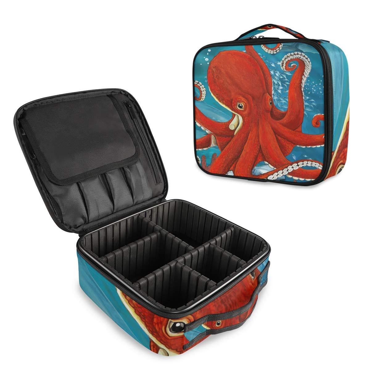 HousingMart Travel Makeup Bag Excellent Animal NEW Ocean Octopus Cosmet