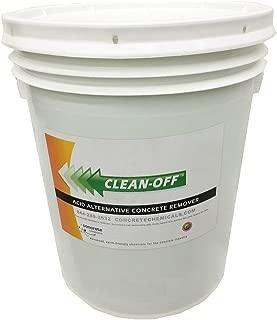 CLEAN-OFF Liquid Concrete Remover 5 Gallon