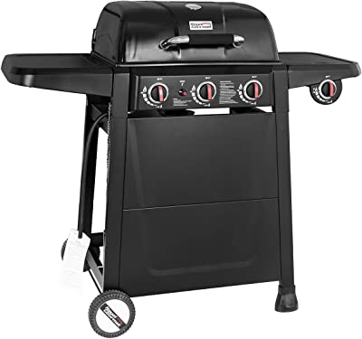 Royal Gourmet SG3001 3-Burner Propane Gas Grill for BBQ, Patio, Backyard Outside Cooking, Black