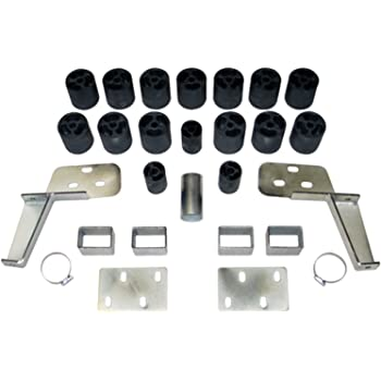 Performance Accessories 3 Body Lift Kit PA10053 Non-HD fits 1999 to 2002 Made in America Chevy//GMC Silverado//Sierra 1500//2500 Gas 2WD and 4WD Std//Ext//Crew Cab