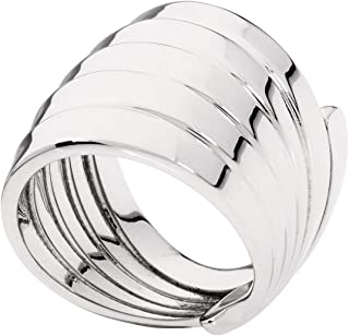Calvin Klein Womens Polished Stainless Steel Jewelry Whisper Ring Collection