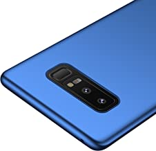 kqimi Galaxy Note 8 Case [Colorful Series] [Ultra-Thin] [Anti-Drop] Premium Material Slim Full Protection Cover for Samsung Galaxy Note8 2017 (Blue)